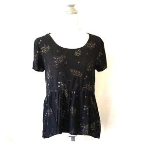 O'Neil top/blouse summer flowy & cool size S EUC